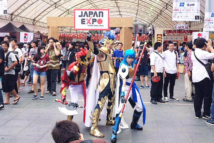 ジャパンエクスポ2014タイ コスプレ