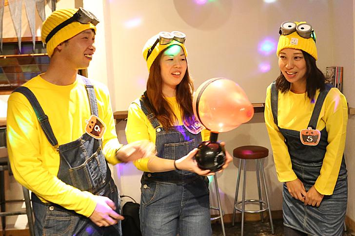 ハロウィンゲーム4 風船時限爆弾
