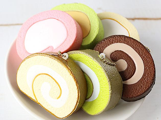 ロールケーキスクイーズ
