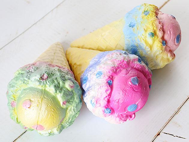 アイスクリームスクイーズ