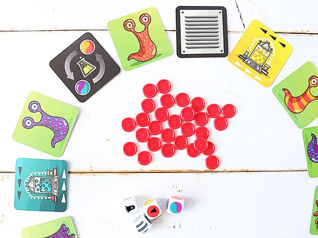 冷静かつ素早い判断が勝利のカギ パニック・ラボ[カードゲーム]