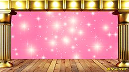 バーチャル背景パソコン用・ピンク
