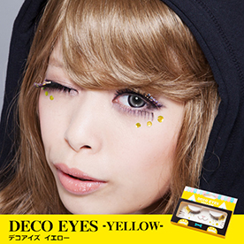 DECO EYES YELLOW