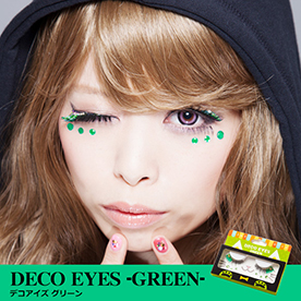 DECO EYES GREEN