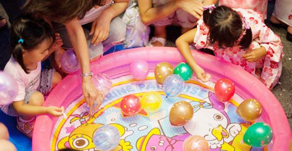 子供向けイベント・納涼祭・夏祭り|当日
