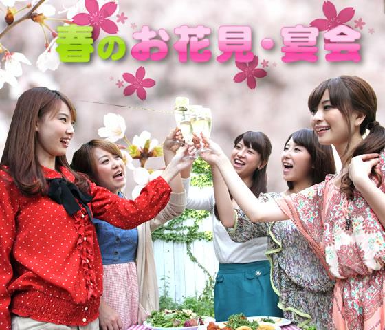 春のお花見・宴会